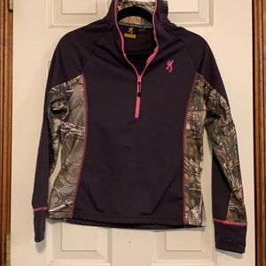 Browning 3/4 Zip Pullover